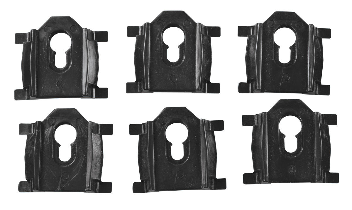 Clip Kit, 1978-87 'above the rear window' El Camino molding clips