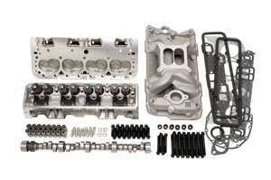 Power Package, Top End, Edelbrock, SB Chevy, 435 HP