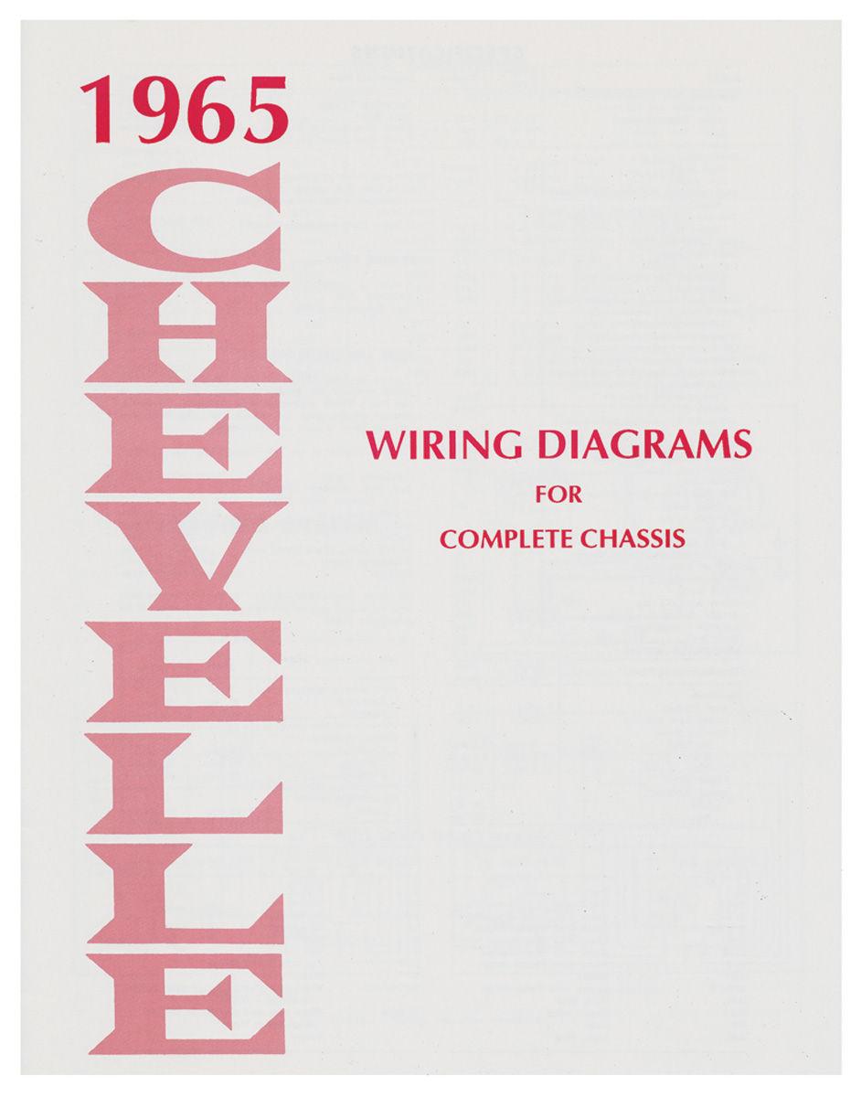 Wiring Diagram Manual, 1965 Chevelle/El Camino @ OPGI.com | 1965 Chevelle Engine Wiring Diagram |  | OPGI