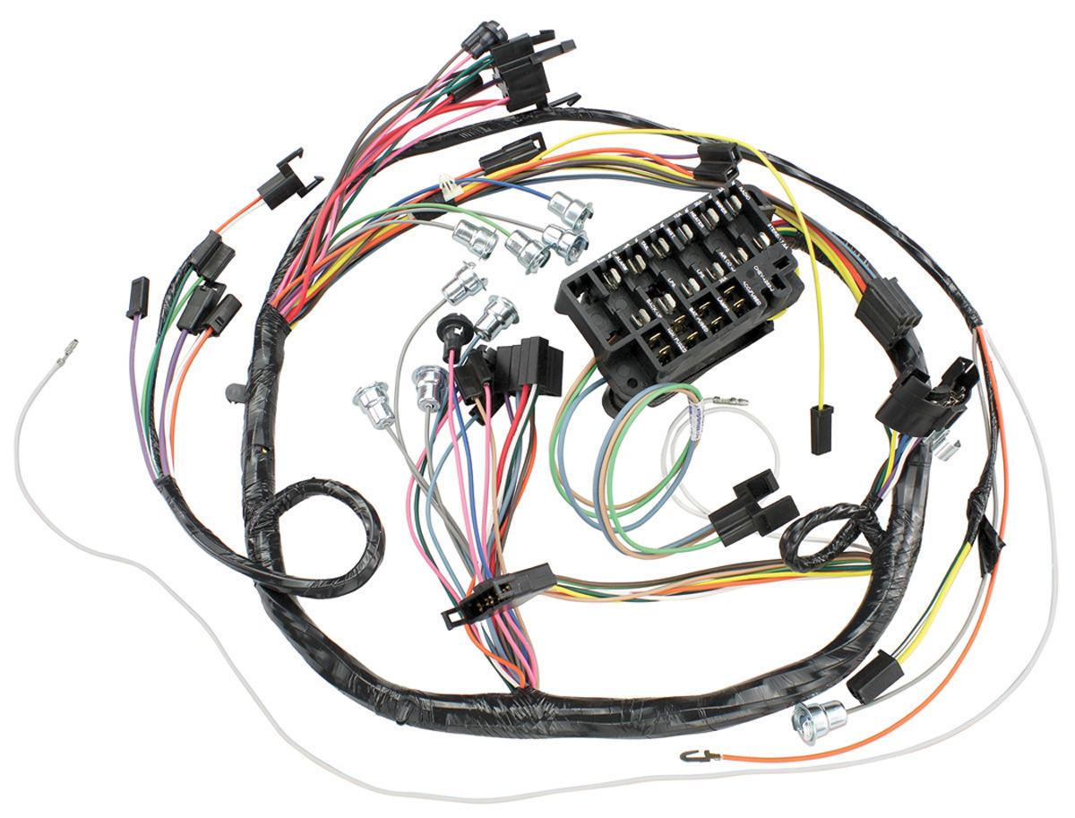 [SCHEMATICS_48ZD]  Wiring Harness, Dash, 1966 Chevelle/El Camino, Console/C.A.C. @ OPGI.com | 1966 El Camino Wiring Harness |  | OPGI.com