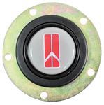 Gray Oldsmobile Horn Button w/Rocket logo
