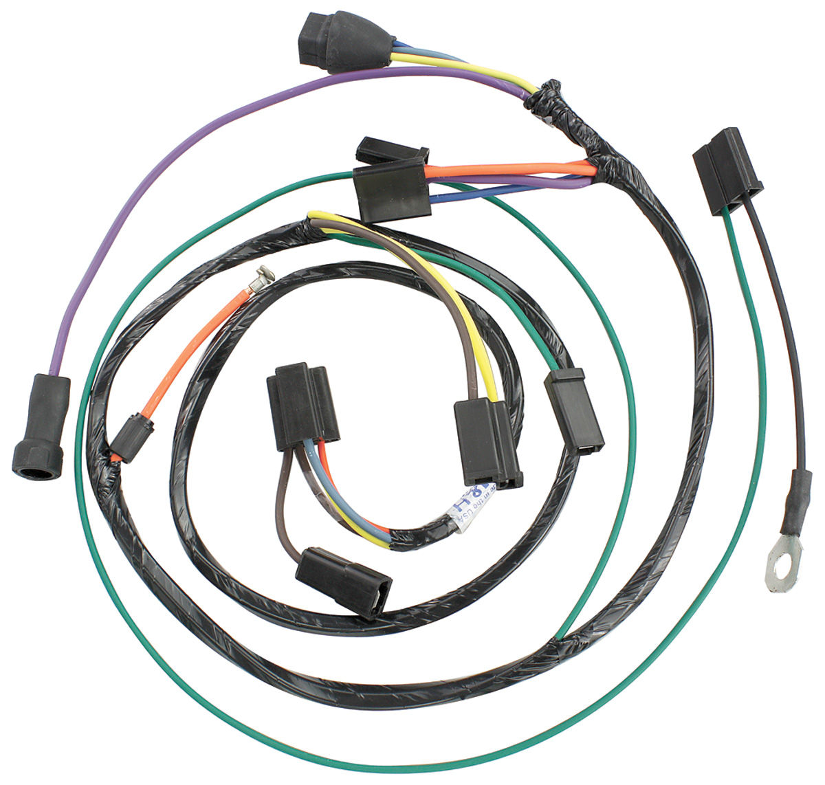 Wiring Harness  Air Conditioning  1965