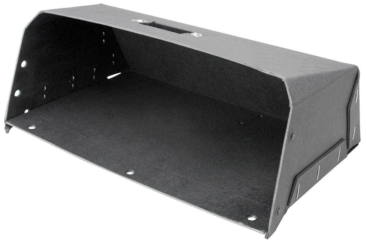 Glove Box, 1963-65 Riviera, Black Flock