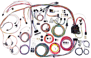 Wiring Harness Kit, American Autowire,1970-72 CH/EC, Classic Update