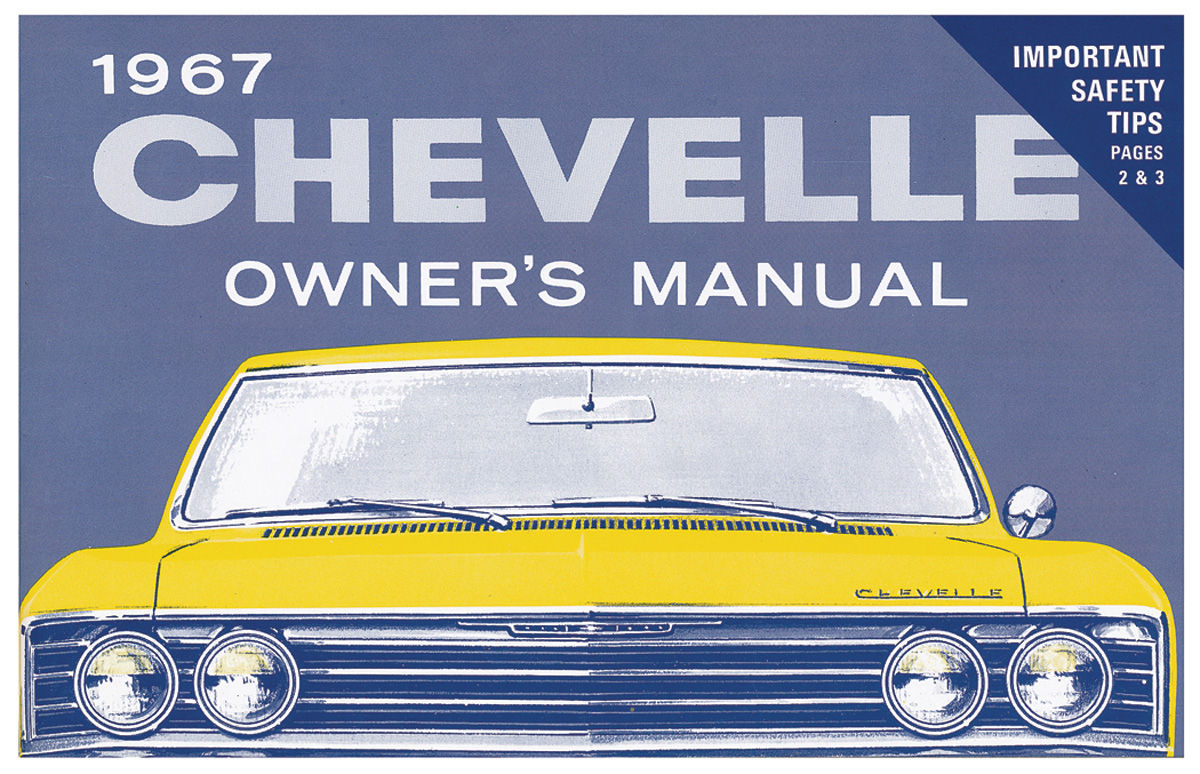 Owners Manual, 1967 Chevelle