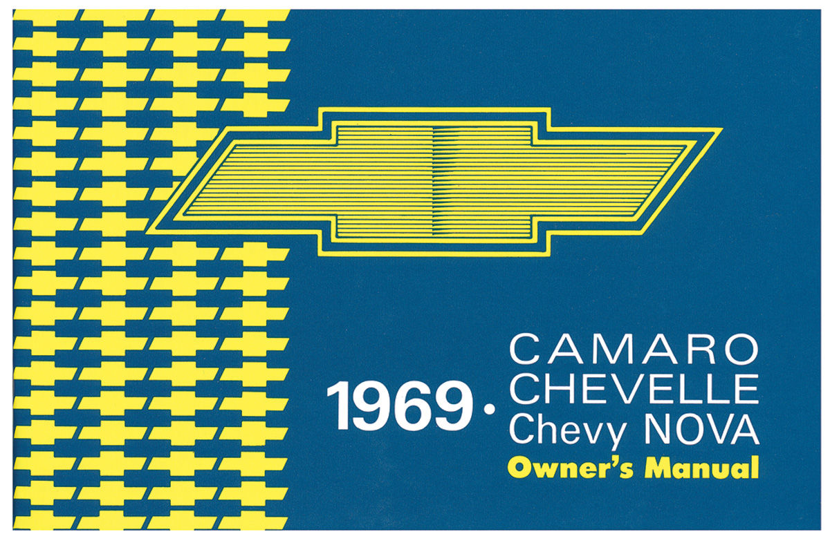 Owners Manual, 1969 Chevelle