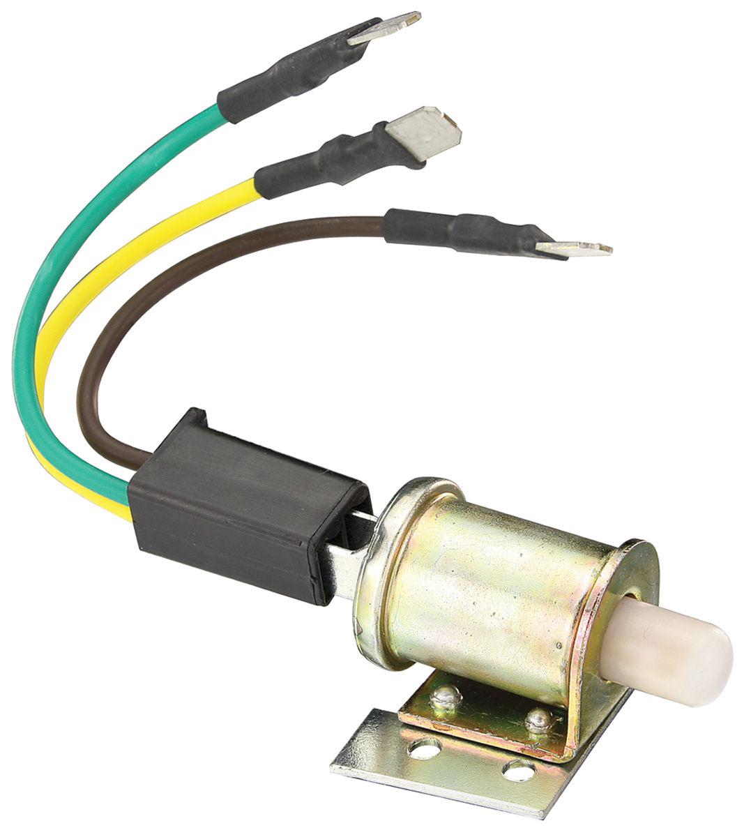 AC Compressor Switch,1964-65 Chevelle/El Camino, Button on Case