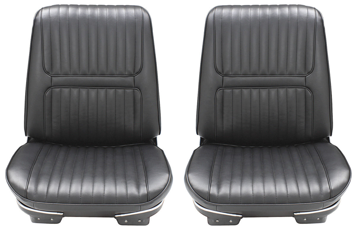 Seat Upholstery, 1967 Riviera, Custom Front Buckets