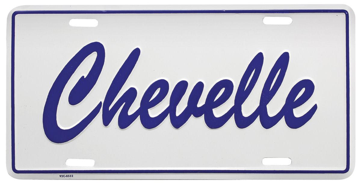 License Plate, Custom,