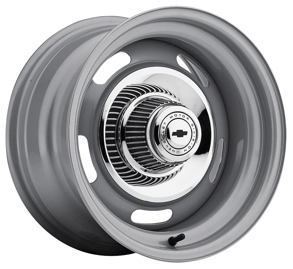 "Rally Wheel, Silver, 15"" X 10"", 4-1/4"" Backspacing"