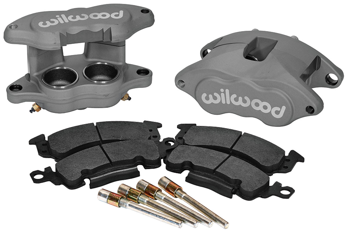 Brake Calipers, 1964-72 A-Body, D-52, Black Anodized