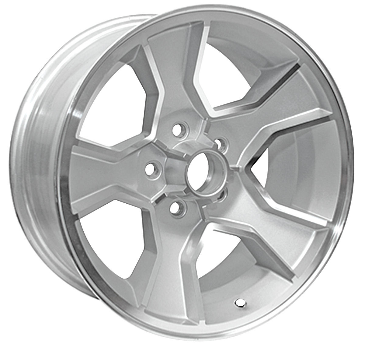 "N90 Wheel, 1986-88 Monte Carlo, Silver 17x8, 4.25""BS"