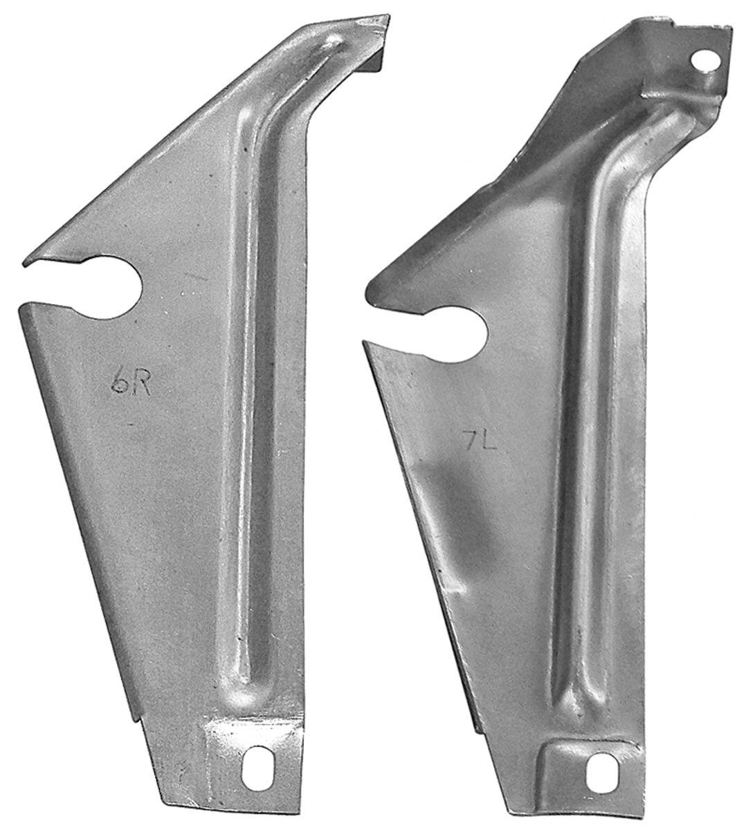 Bracket, Hideaway Headlamp, 1968-69 GTO, Torsion Rod Support, Pair