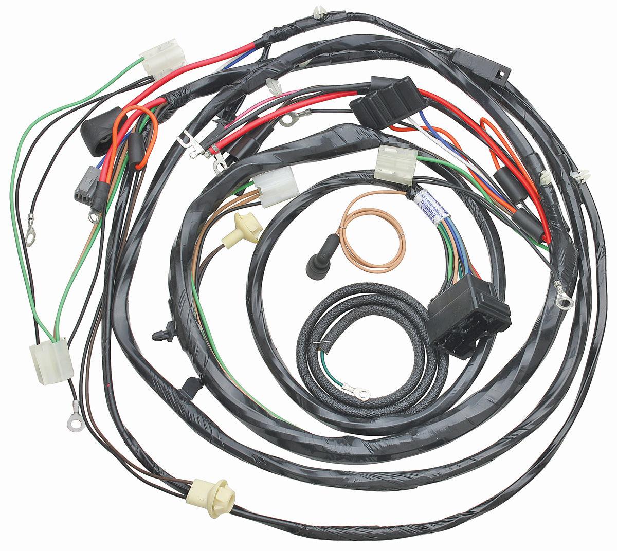 Wiring Harness, Forward Lamp, 1969 Chev/El Cam, V8/Gauges @ OPGI.comOriginal Parts Group