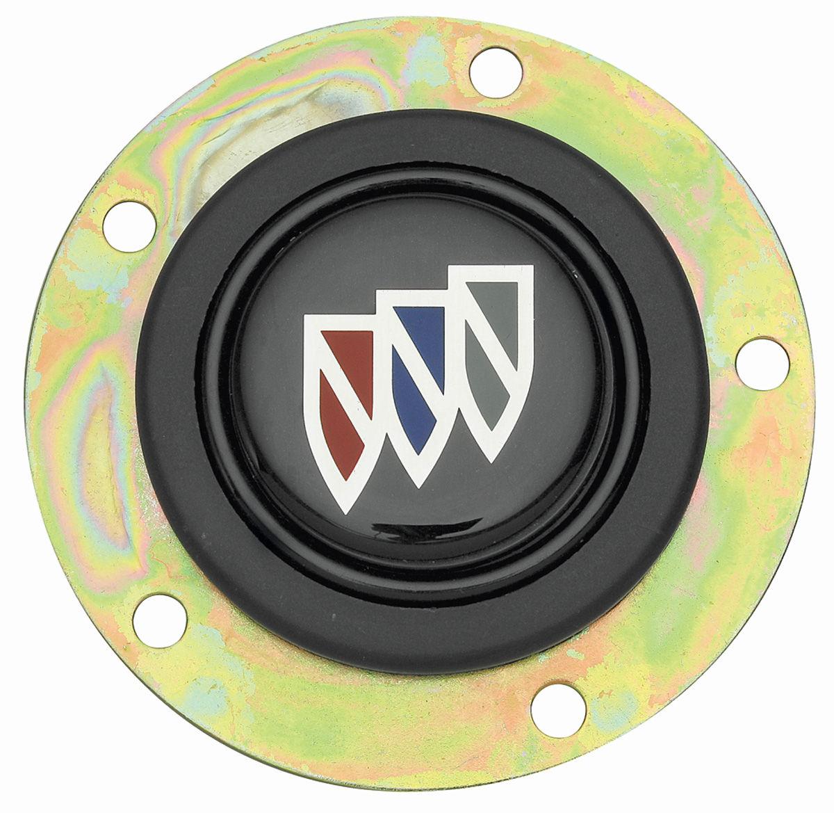 Black Buick Horn Button w/Shield