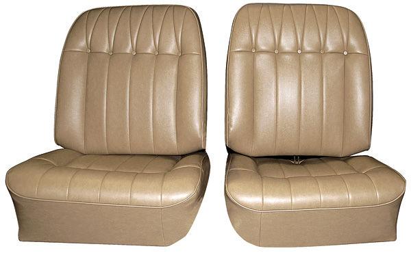 Seat Upholstery, 1965 Riviera, Custom Front Buckets