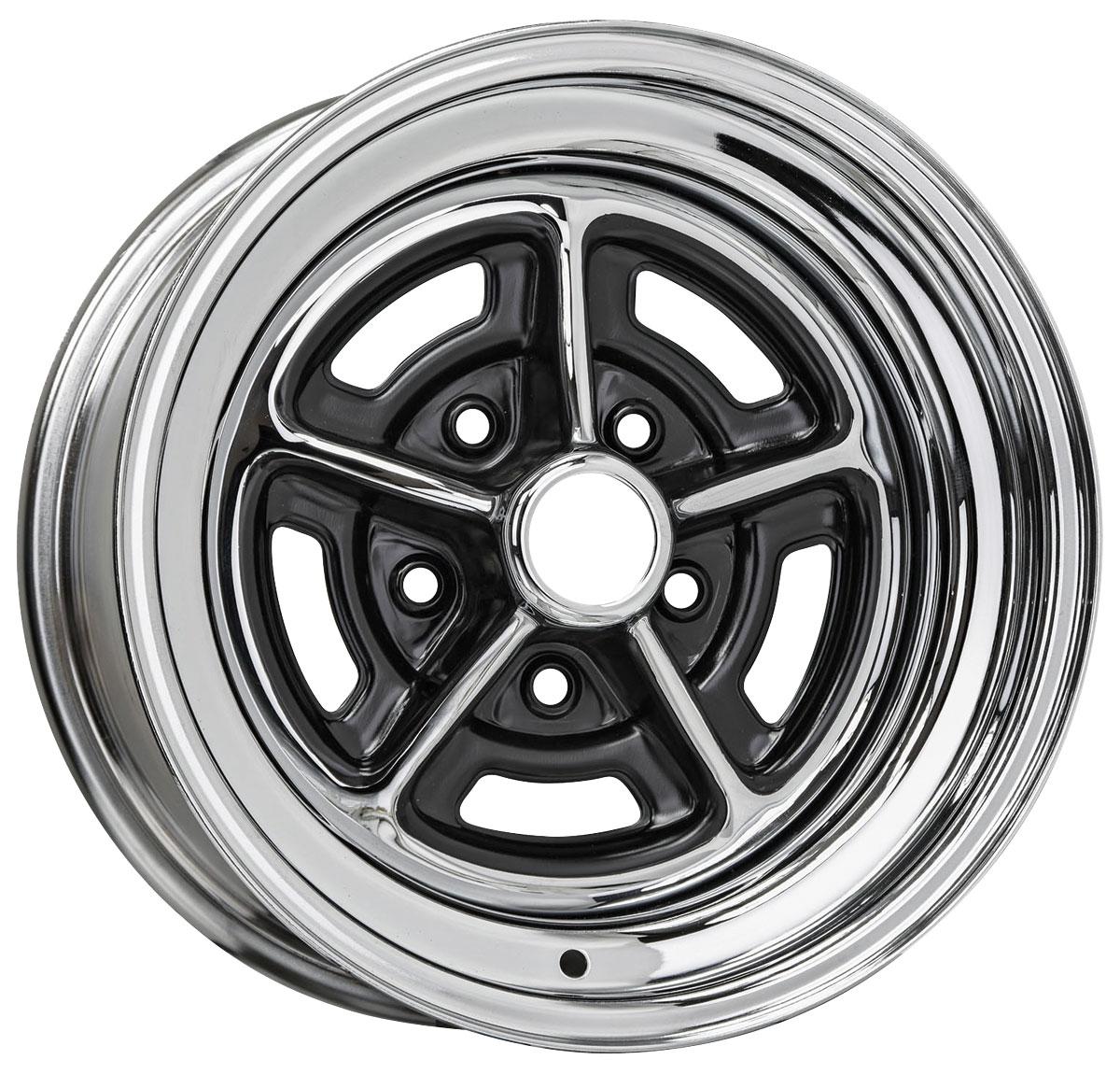 "Wheel, Rally, Buick 15x6, 3.5"" Backspace"
