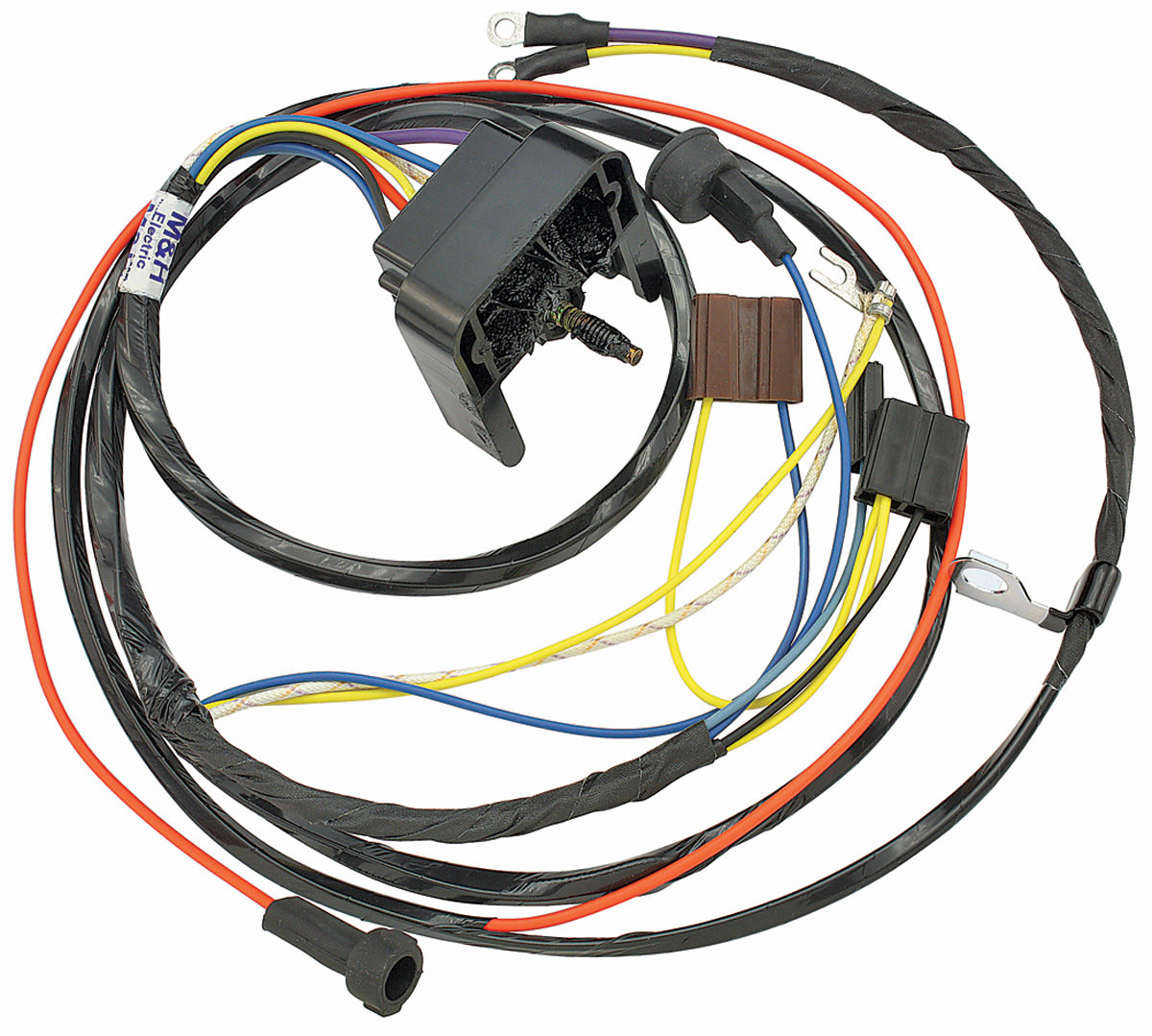 Wiring Harness, Engine, 1969 Chevelle/El Camino, V8/Warning Lights