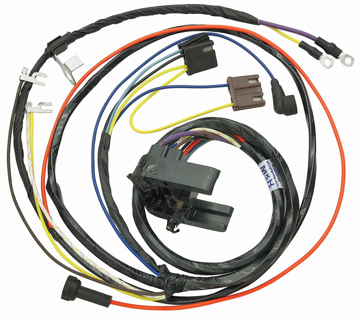 Wiring Harness, Engine, 1969 Chevelle/El Camino, V8/Gauges