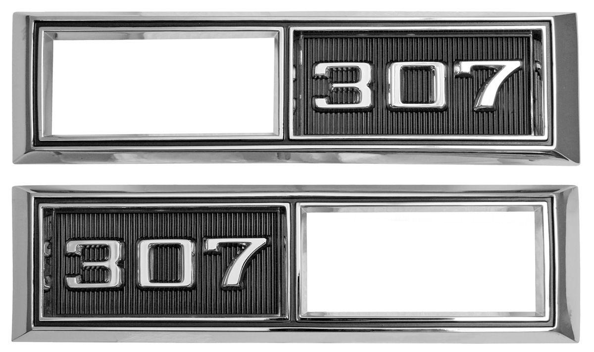 Bezel, Marker, 1968 Chevelle/El Camino, Front, 307