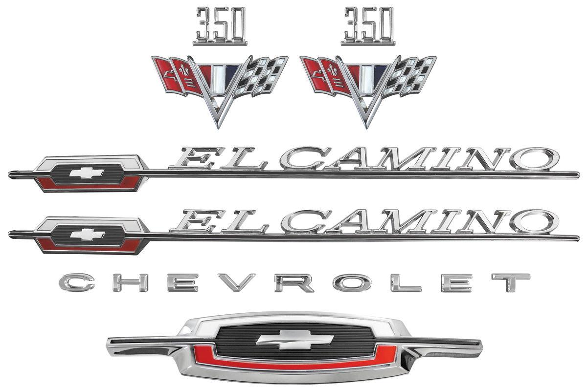 Emblem Kit, 1966 El Camino 350