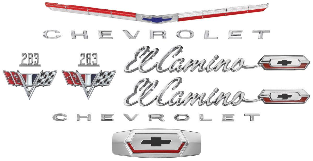 Emblem Kit, 1965 El Camino 283