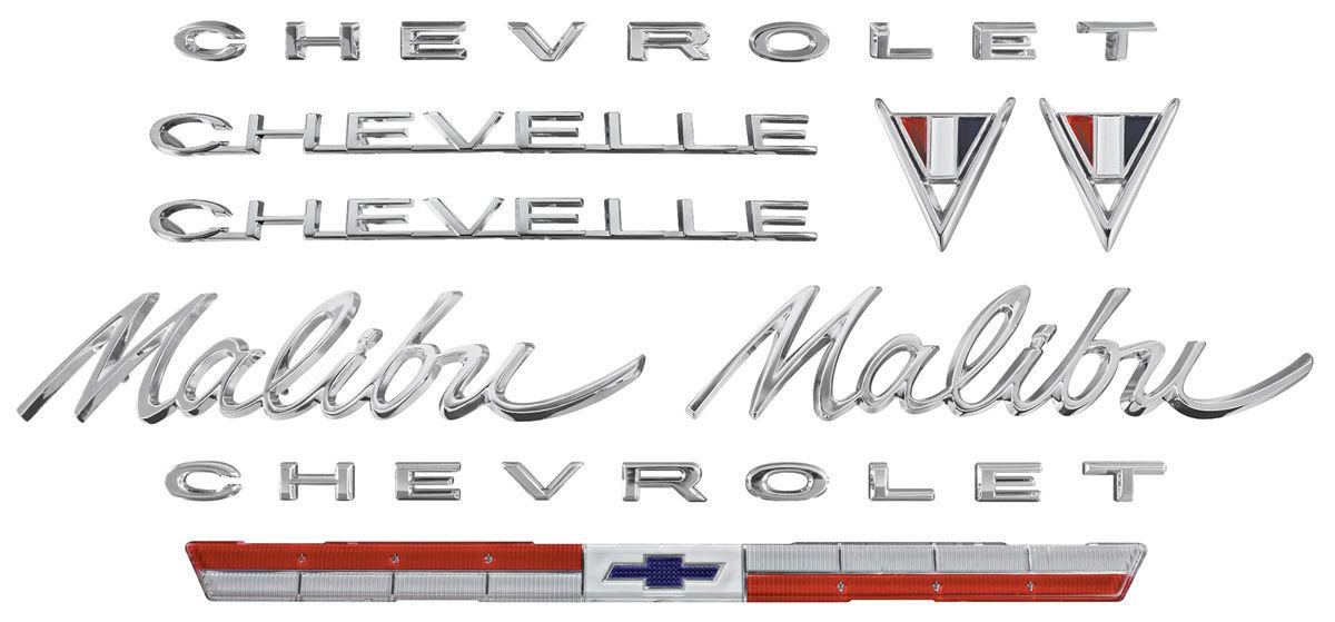 Emblem Kit, 1964 Malibu 283