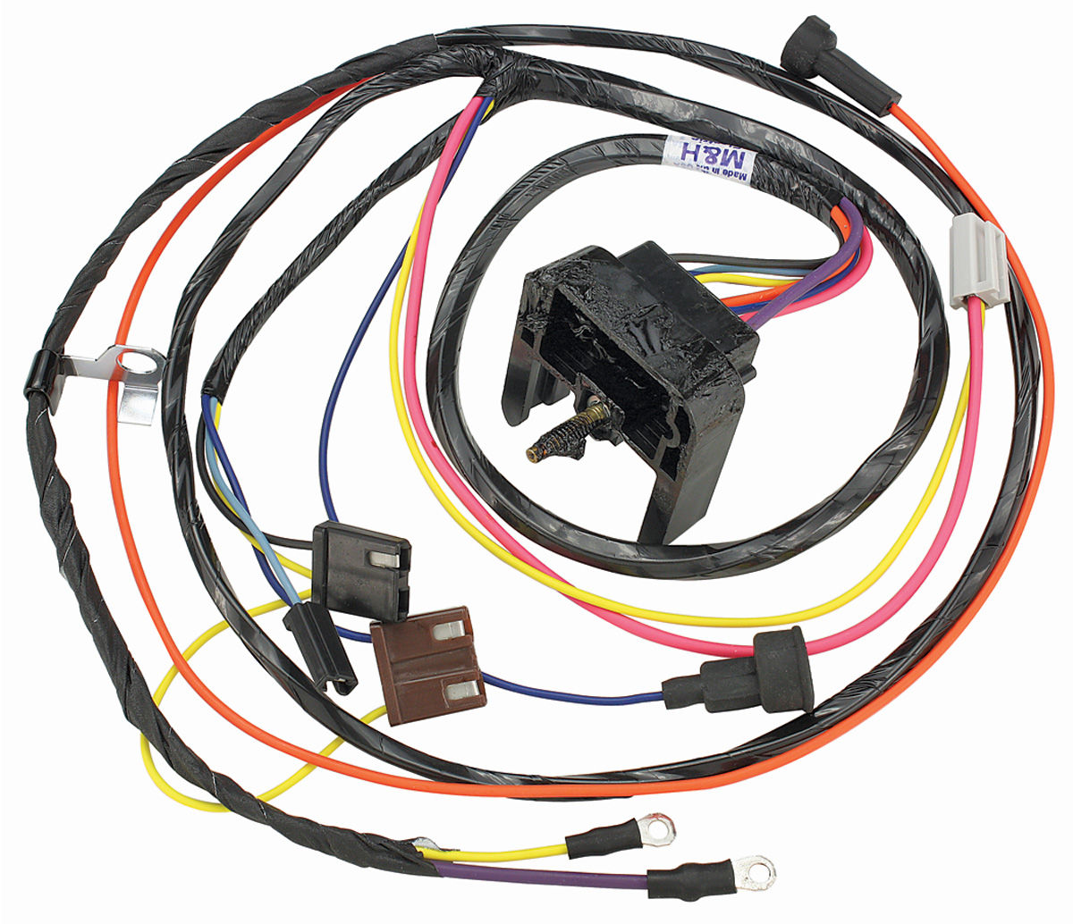 Wiring Harness, Engine, 1969 Chevelle/El Camino, SB V8/HEI/Warning Lights @  OPGI.com | 1980 El Camino Wiring Harness |  | OPGI