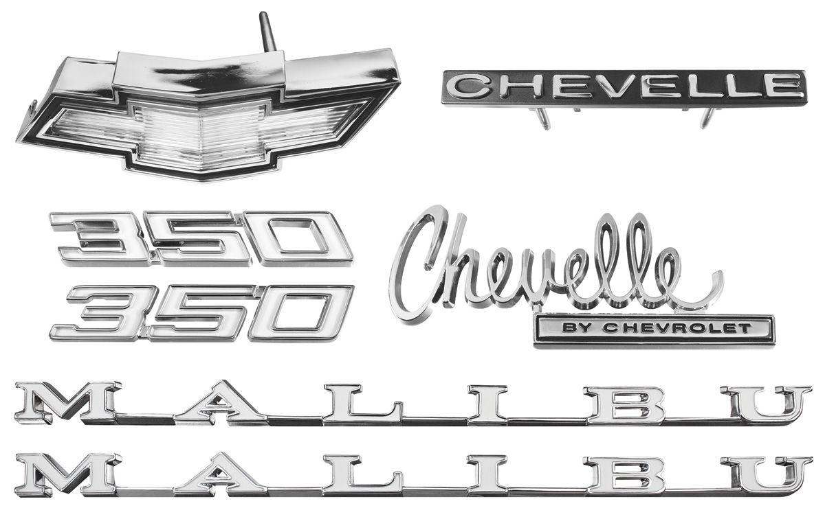 "1970 El Camino Grille Emblem /""CHEVROLET/"" each."