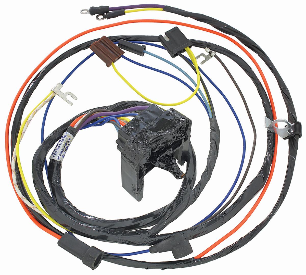 Wiring Harness, Engine, 1969 Chevelle/El Camino, 396/Gauges