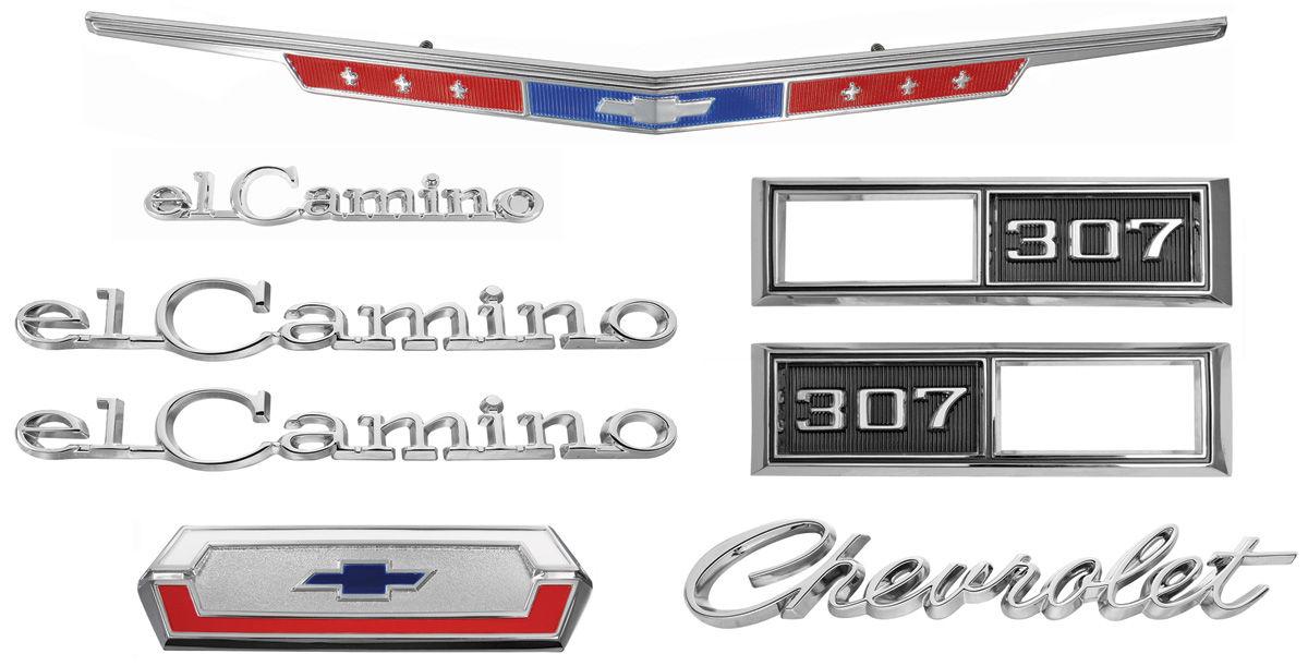 Emblem Kit, 1968 El Camino 307