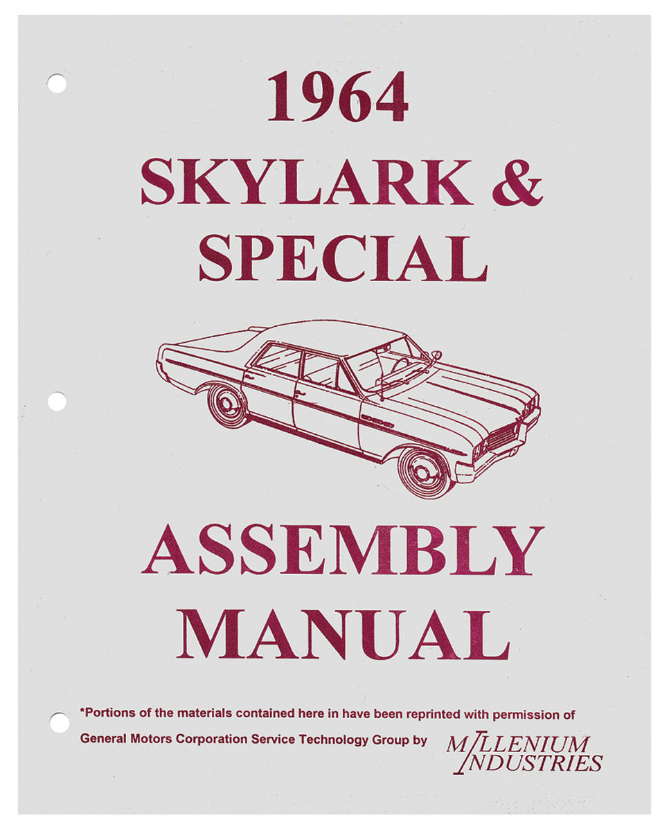 Assembly Manual, 1964 Skylark