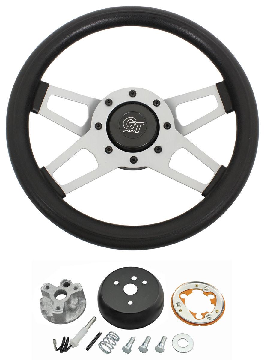 Steering Wheel Kit, Challenger, 1965-66 & 1968 Oldsmobile, Satin