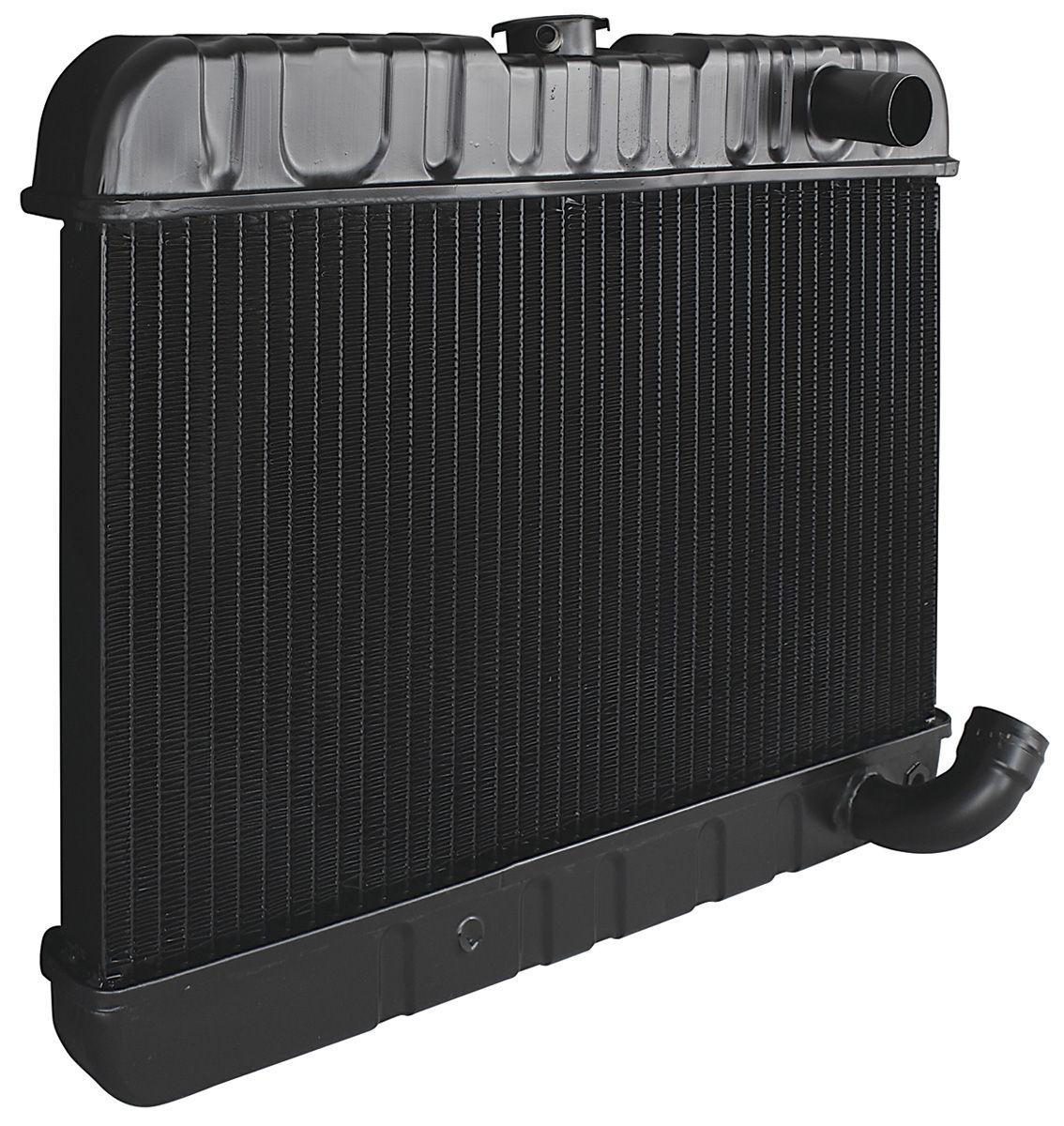 """Radiator, 1961-63 Skylark, V8, Manual, 2-Row, 12-3/8"""" X 23-1/8"""" X 1-1/4"""""""