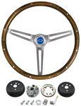 Steering Wheel Kit, Classic Nostalgia, 1964-65 Chevrolet, Wood
