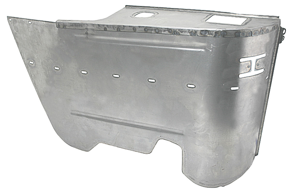 Armrest Panel, Lower Rear, 1964-67 A-Body, Convertible