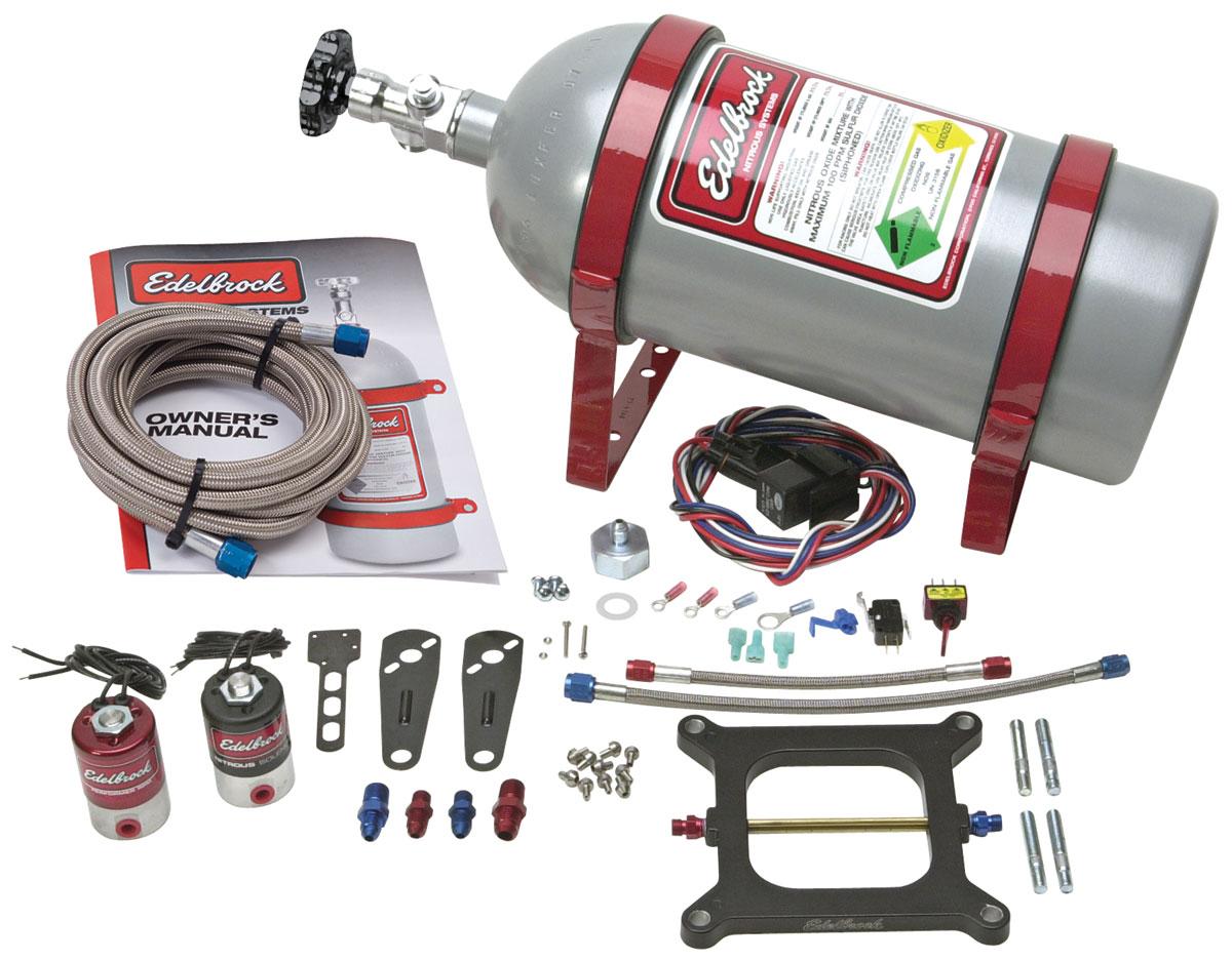 Nitrous System, Performer RPM, Square Bore Carburetors