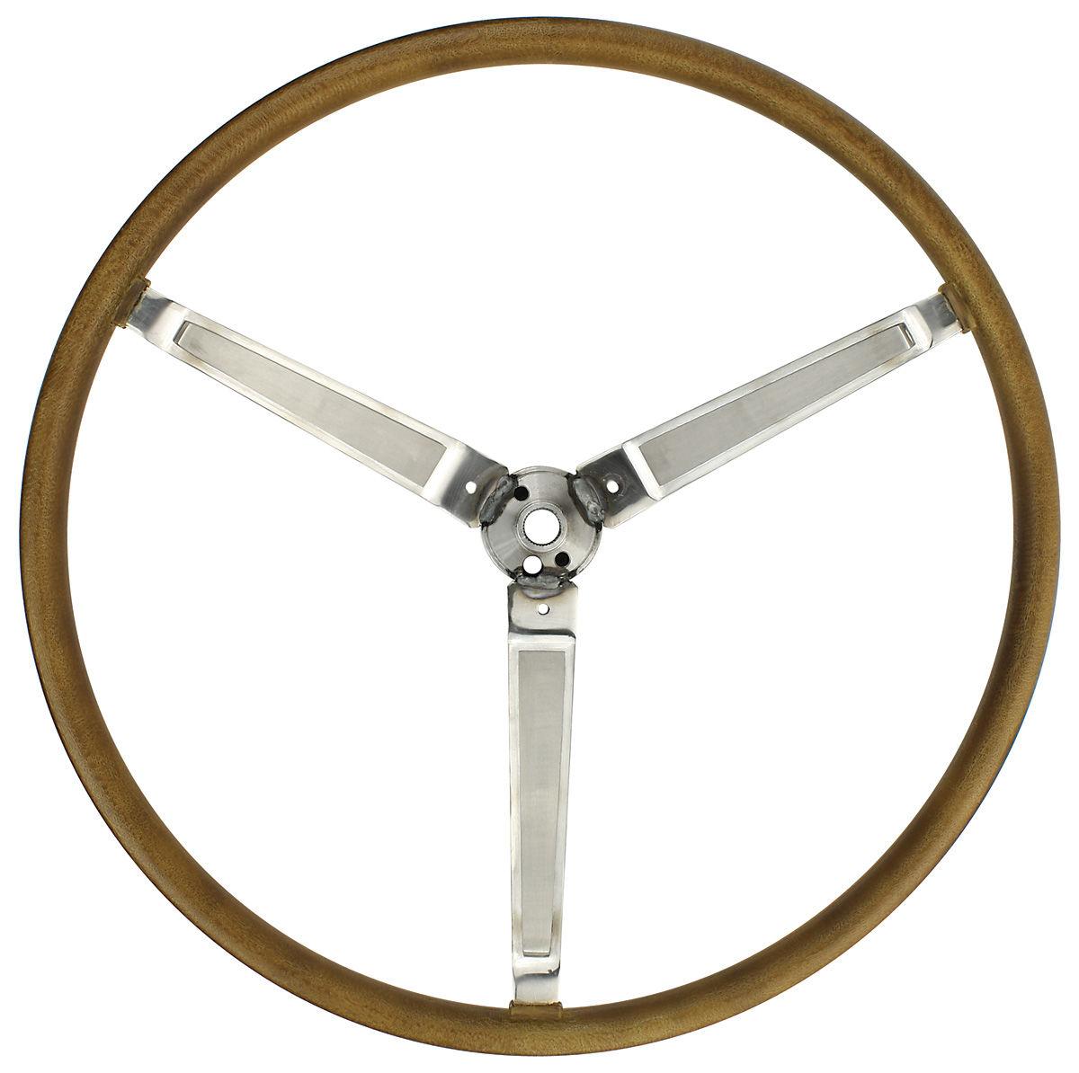 Steering Wheel, 1967 GTO/Pontiac, Simulated Wood