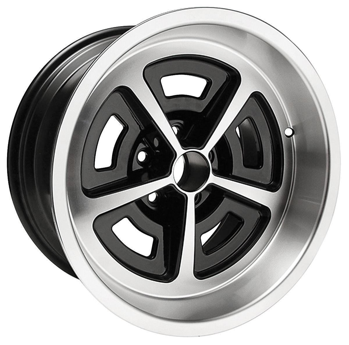 Wheel, Chevrolet/Cutlass/Skylark, 5-Spoke Rally, 17x9
