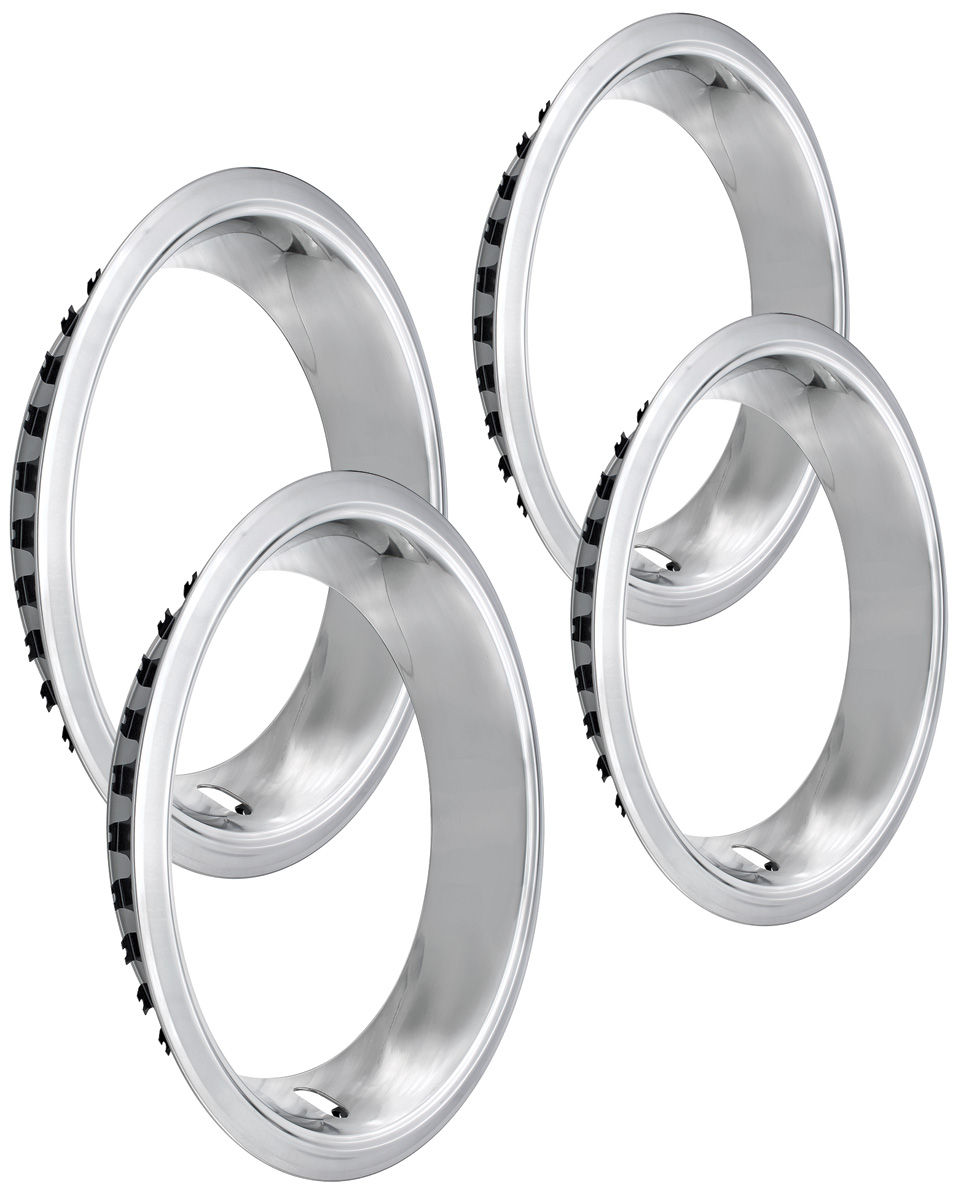Trim Rings, 1964-77 Chev/Pont, Rally Wheel
