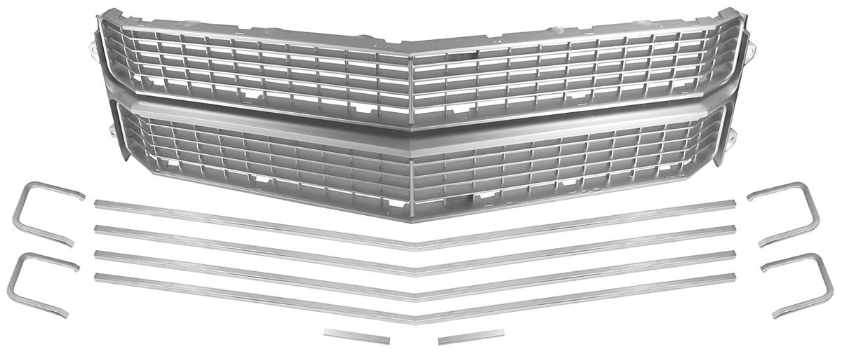 Grille Kit, 1970 Chevelle (Silver)