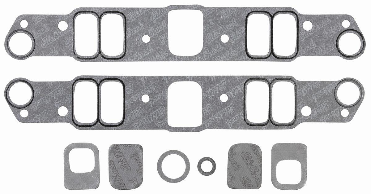 Gaskets, Intake Manifold, Edelbrock, Pontiac 326-455