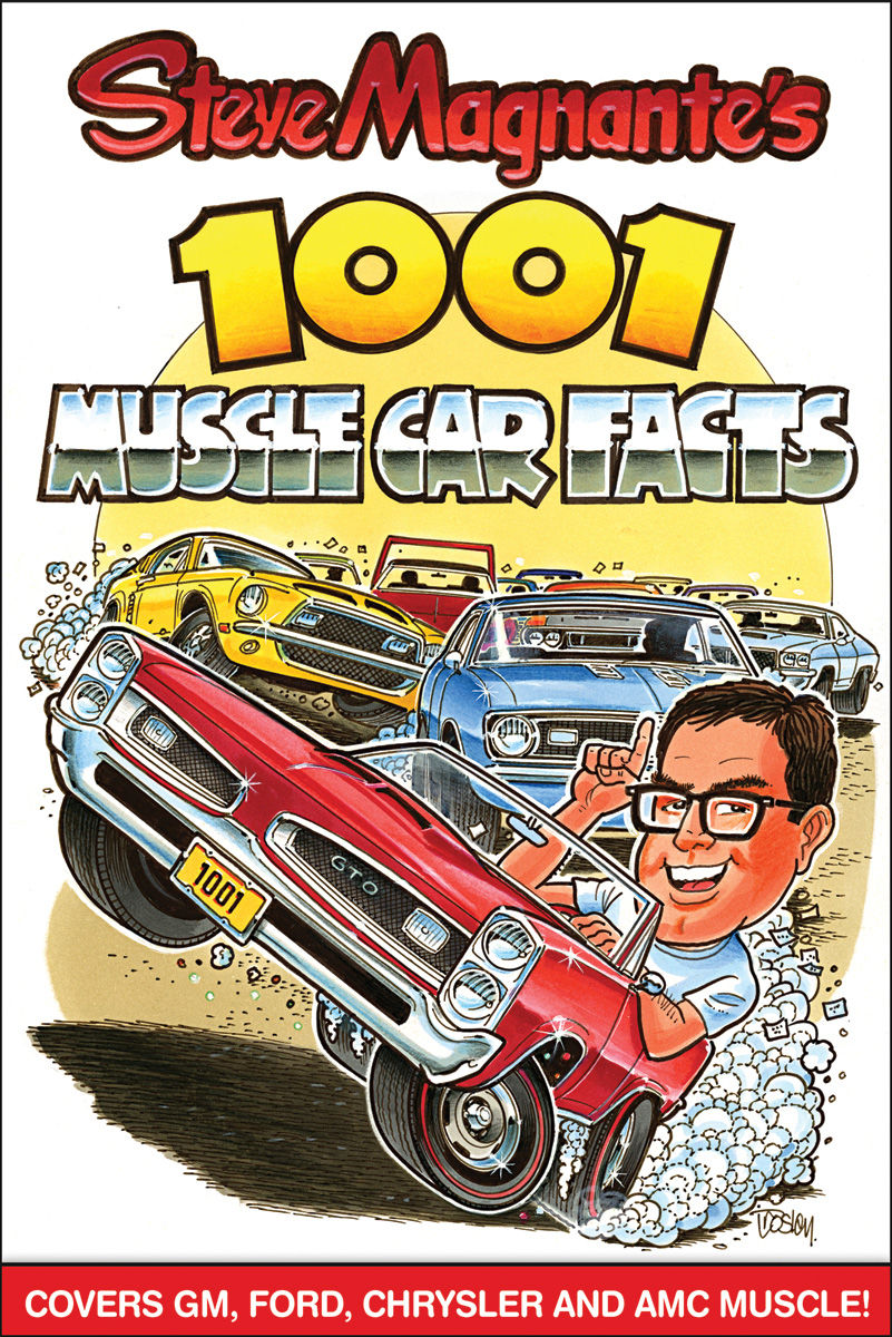 Book, Steve Magnante's 1001 Muscle Car Facts