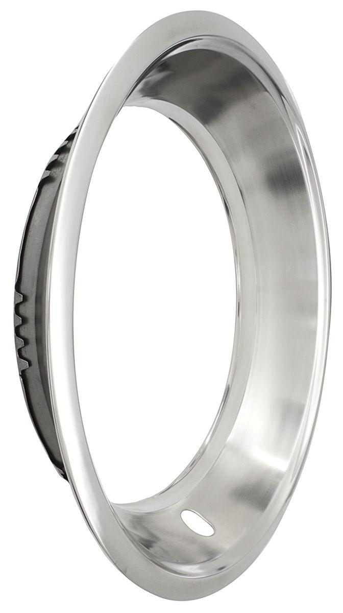 Trim Ring, 8-Lug Wheel, 1963-68 Bonneville/Catalina/Grand Prix, Stainless