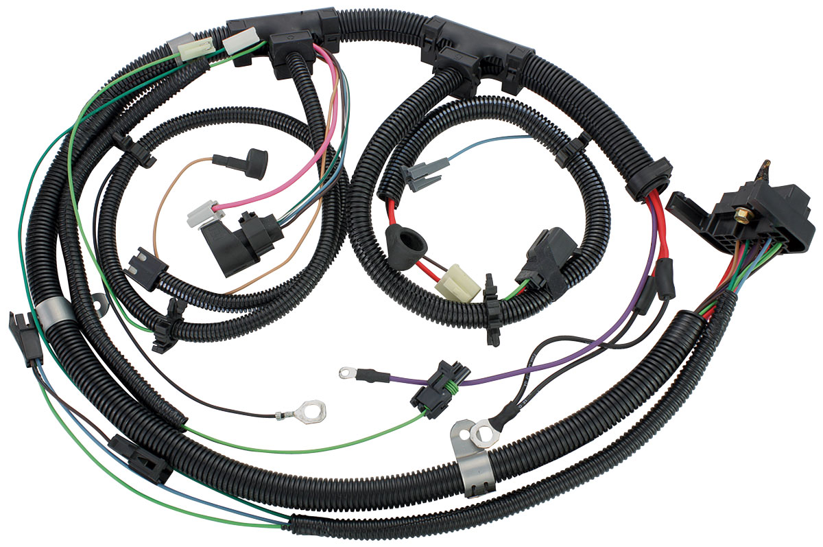 Wiring Harness, Engine, 1980 El Cam./Monte/Malibu, V8, Gauges, TH200C @  OPGI.com | 1980 El Camino Wiring Harness |  | OPGI