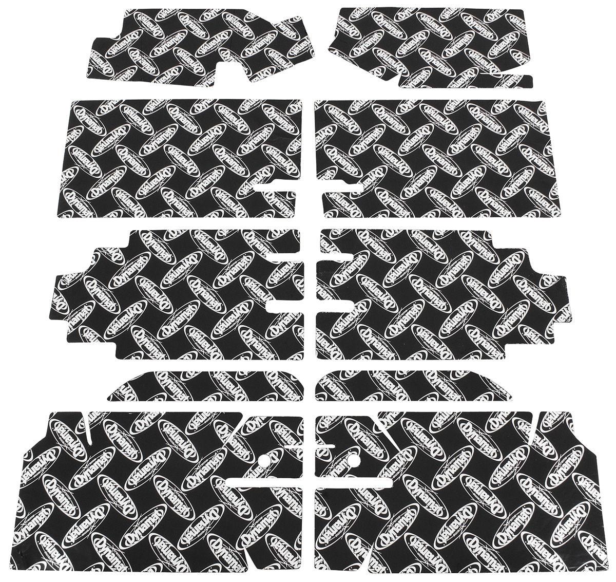 "Sound Deadener, 1964-67 GM ""A"" Body, Dynamat Xtreme Floor Kit"