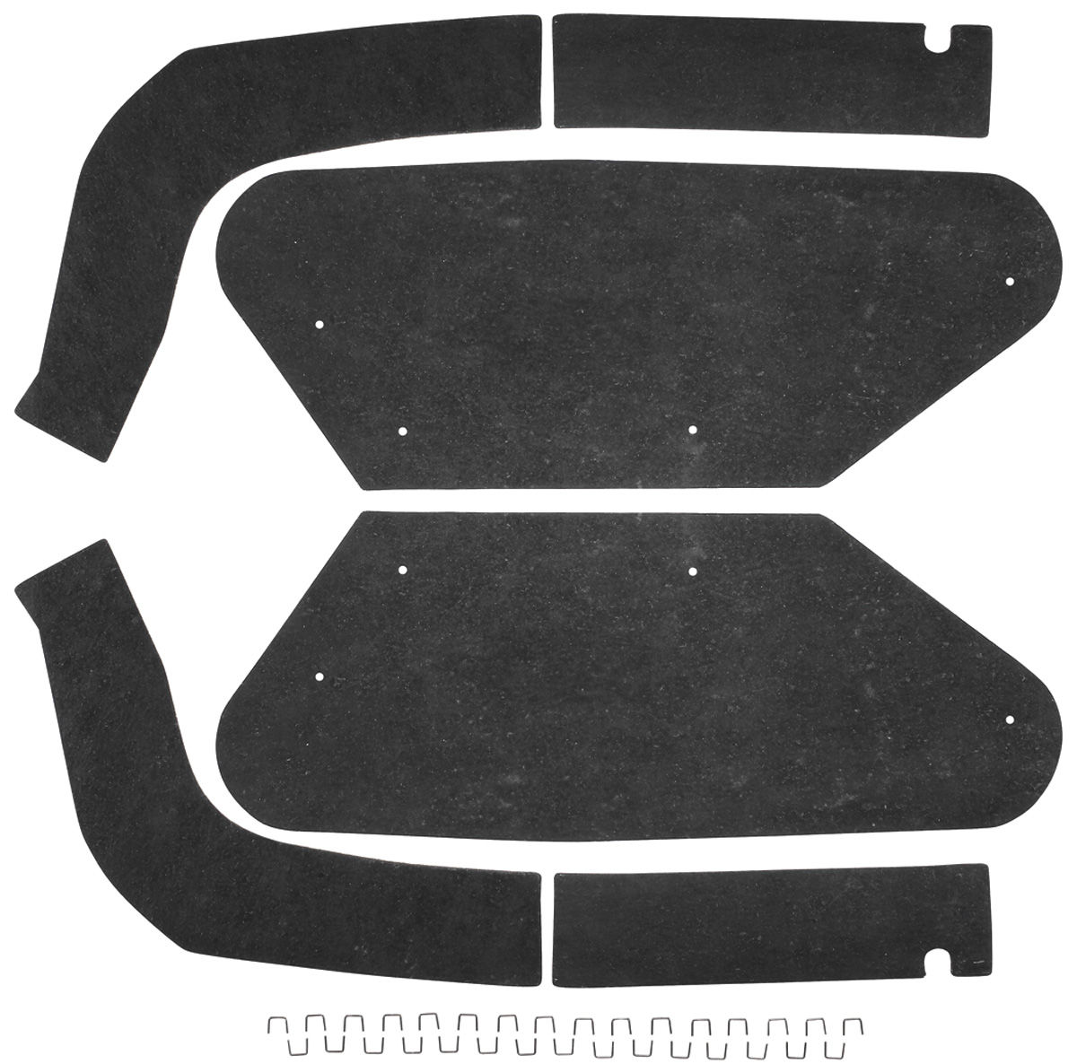 Seal, Inner Fenderwell A-Arm, 1961 Bonneville/Catalina, Early, 6 Pieces