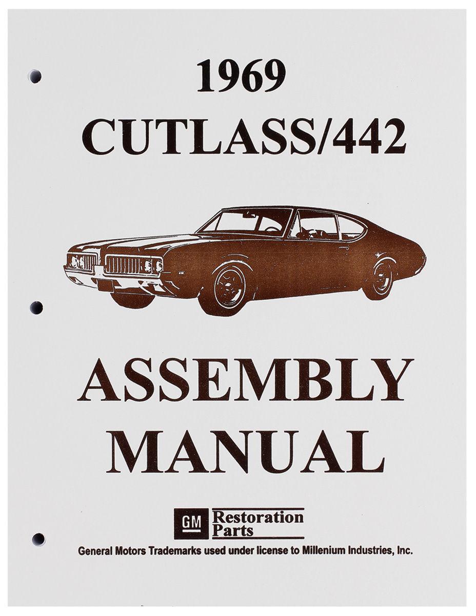 Assembly Manual, 1969 Oldsmobile