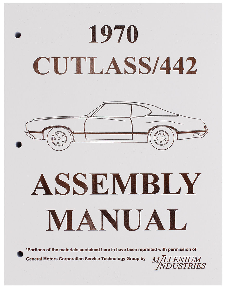 Assembly Manual, 1970 Oldsmobile