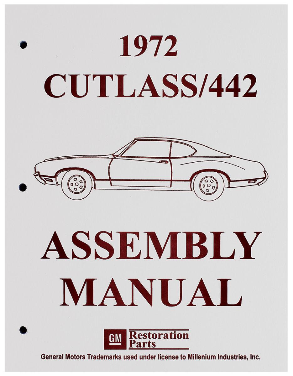 Assembly Manual, 1972 Oldsmobile